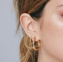 Sparkle bar earrings