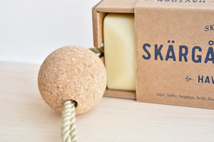 Skärgårdstvål - Sea Buckthorn Soap with Floating Cork in Havtorn