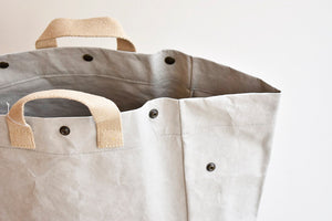 Laundry Bag in Grey