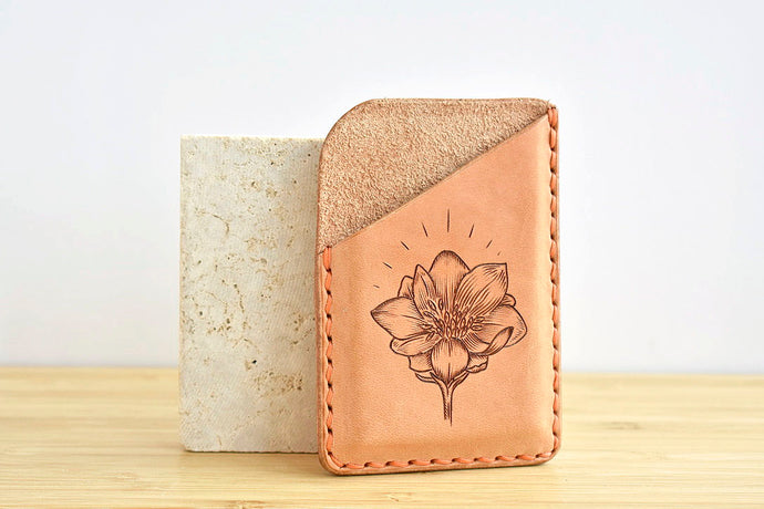 APORTA x RER Bitterroot Flower Card Wallet