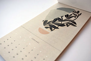 2020 Handmade Abstract Calendar