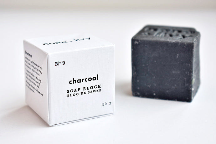 No 9 Charcoal Soap Block