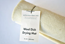Wool Dish Drying Mat