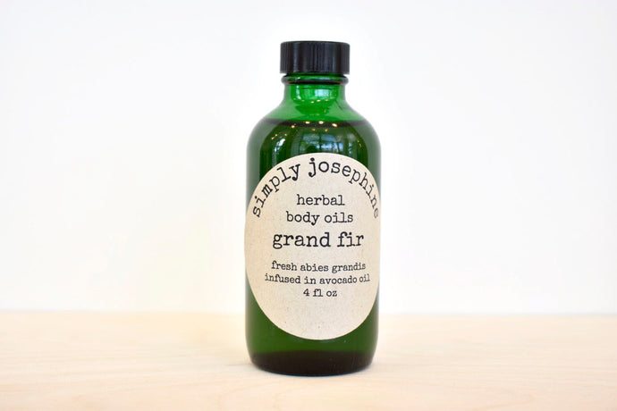 Grand Fir Body Oil