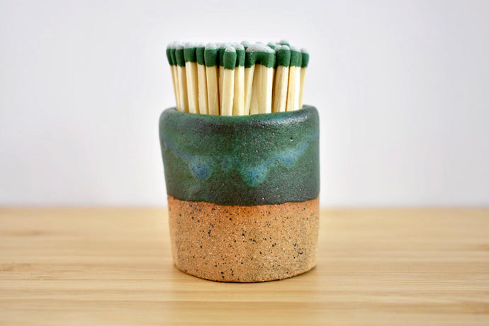 Ceramic Match Strike in Evergreen