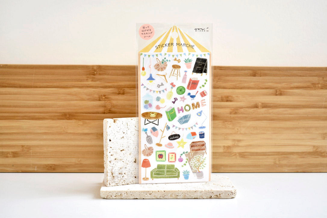 Midori Home Decor Sticker Set