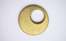Japanese Brass Moon Trivet