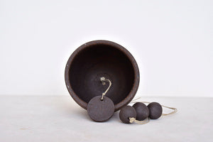 Clay Bell in Chocolate