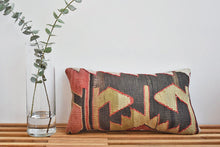 Midnight Shapeshifter Kilim Pillow