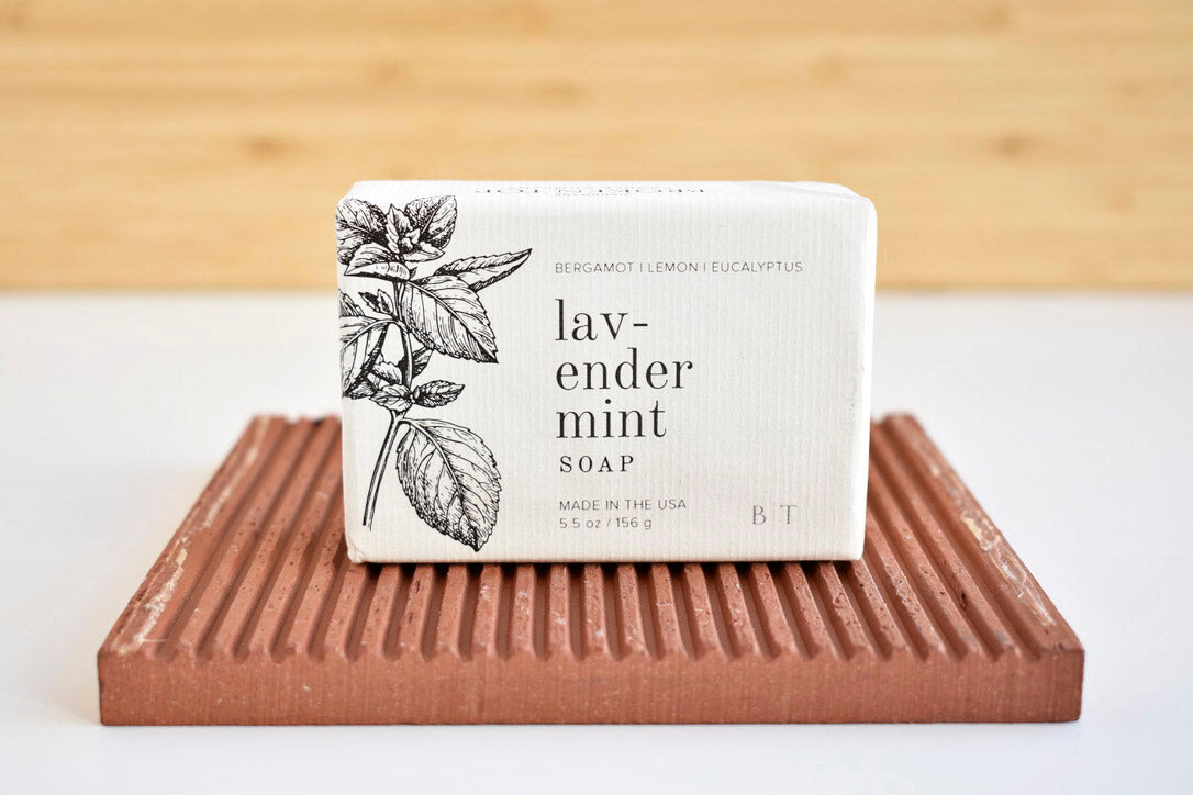 Lavender Mint bar Soap