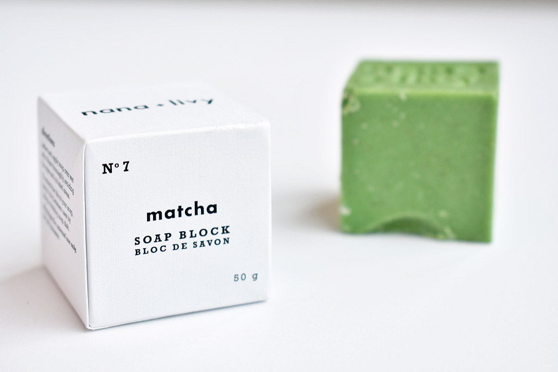 No 7 Matcha Soap Block