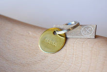 "Small ""Mama"" Brass Key Chain"