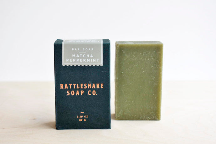 Matcha Peppermint Soap