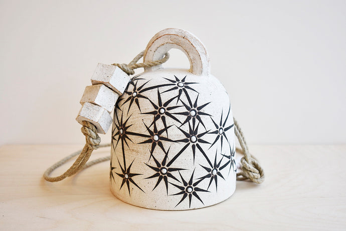 Constellation Round Ceramic Bell - Small