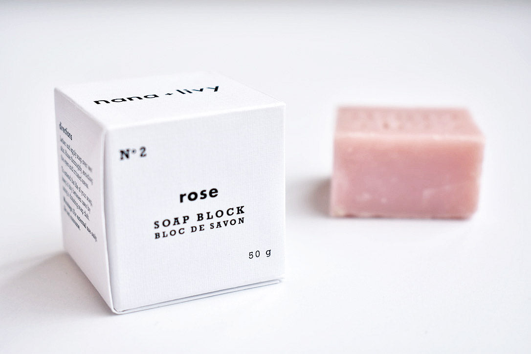 No 2 Rose Soap Block