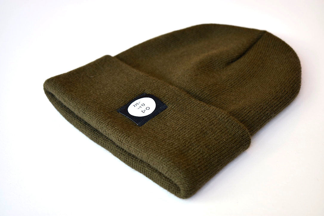 Slope Beanie in Olive