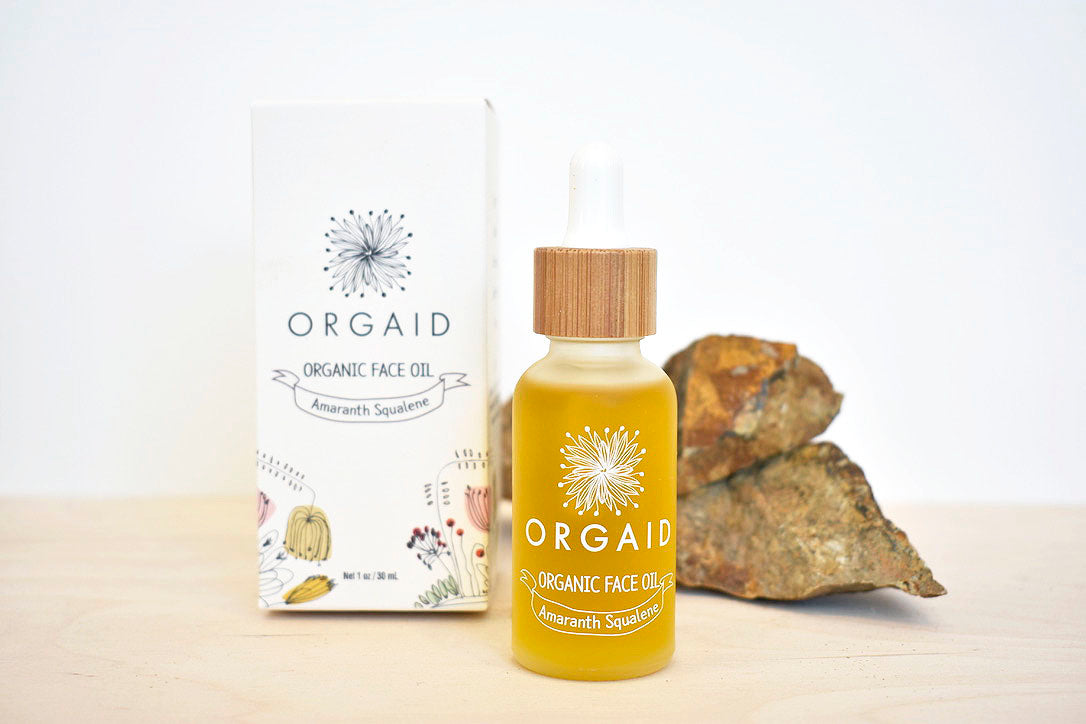 ORGAID Face Oil, Amaranth,Squalene