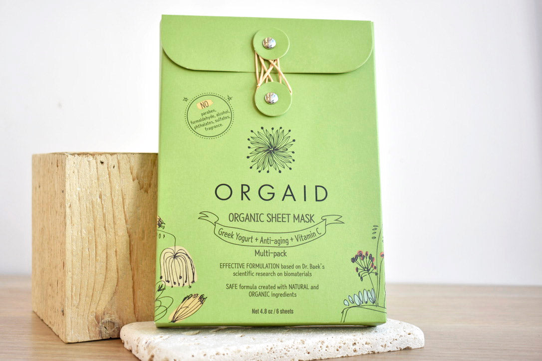 ORGAID Sheet Mask Multi Pack