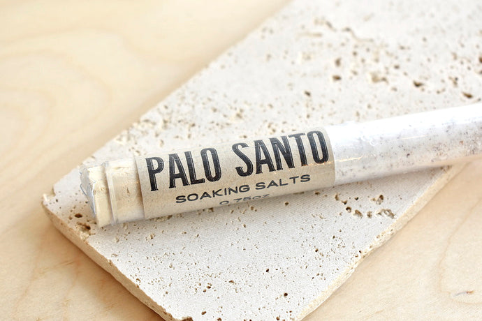 Palo Santo Bath Salt Tube