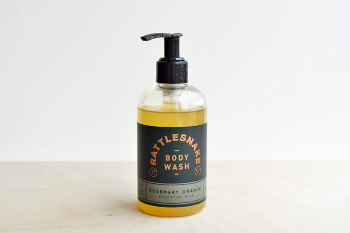 Rosemary and Orange Body Wash