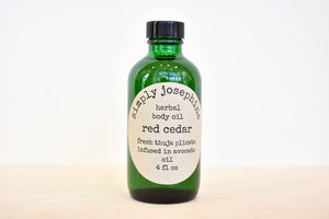 Red Cedar Body Oil