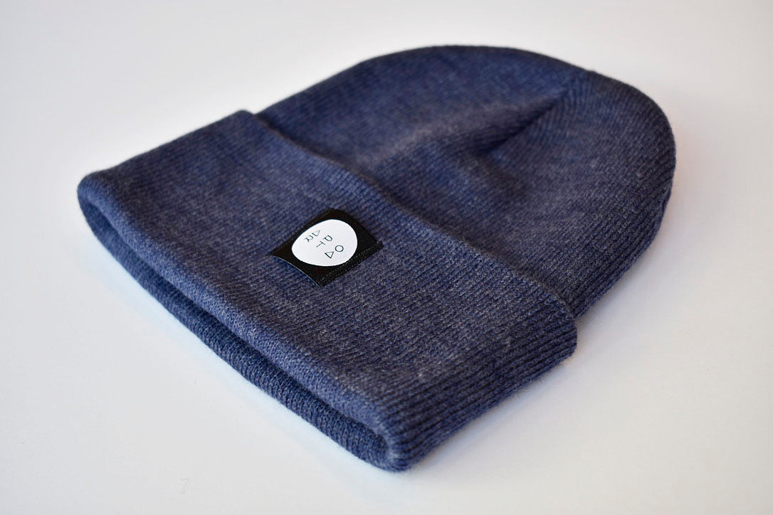 Slope Beanie in Denim
