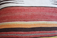 Sunset Stripes Kilim Pillow