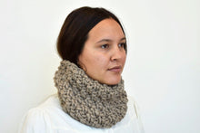 The Hygge Cowl in Tan