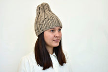 The Hygge Beanie in Tan