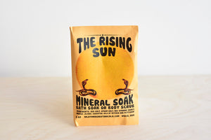Rising Sun Bath Salt Packet