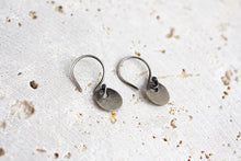 Tiny Coin Earrings