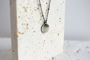 Tiny Spark Necklace in Sterling Silver