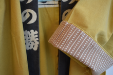 Vintage Japanese Festival Jacket in Yellow