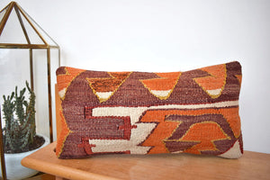 Electric Shapes Kilim Pillow