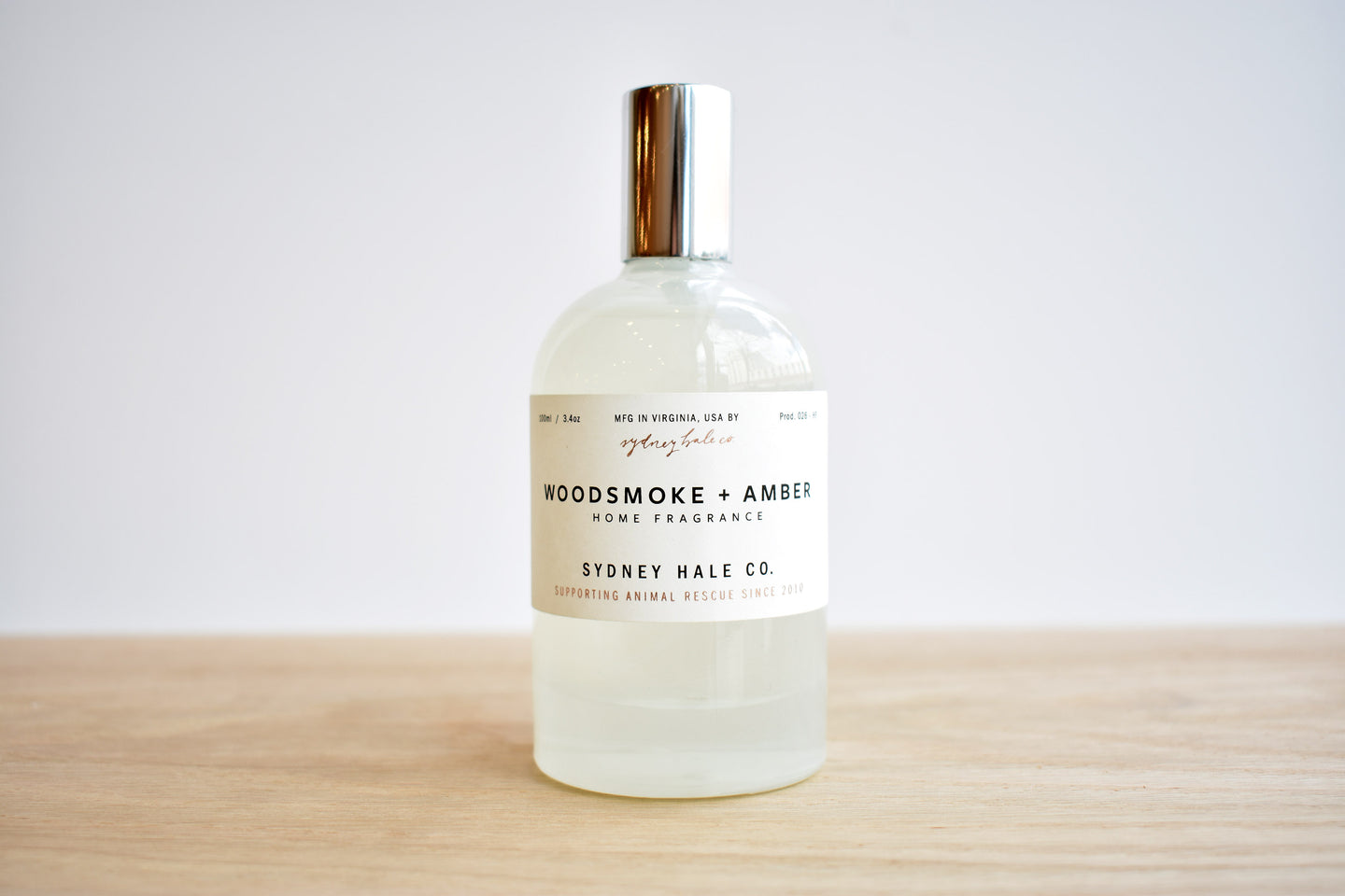 Woodsmoke & Amber Fragrance Spray