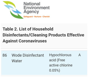 WODE GP350 Disinfectant 25L (Please to call enquire)