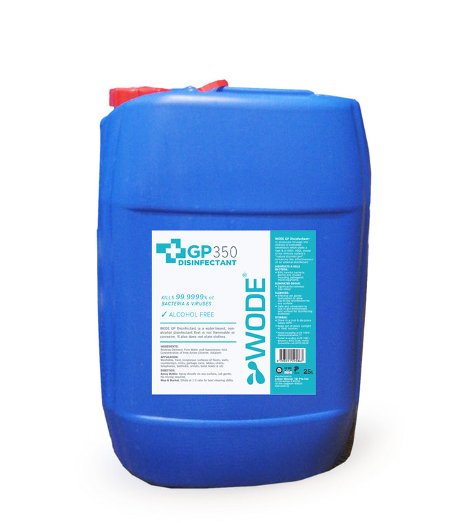 WODE GP350/GP330 Disinfectant 25L (Please to submit form to enquire)