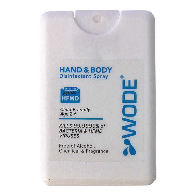 WODE Hand & Body Disinfectant Spray 20ml