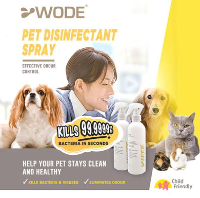 WODE Pets Disinfectant 250ml x1