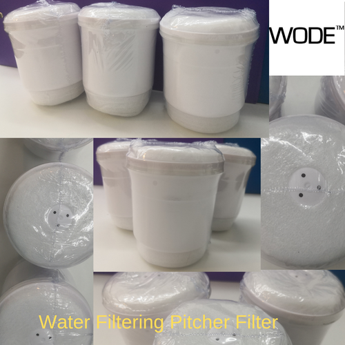 Filter Replacements (x3) for Water Filtering Pitcher (LW-F08)
