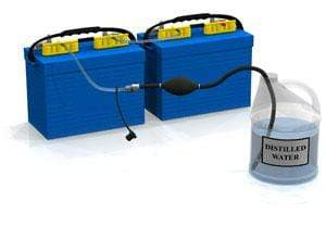 Qwik-Fill On-Board Watering System - Marine Batteries