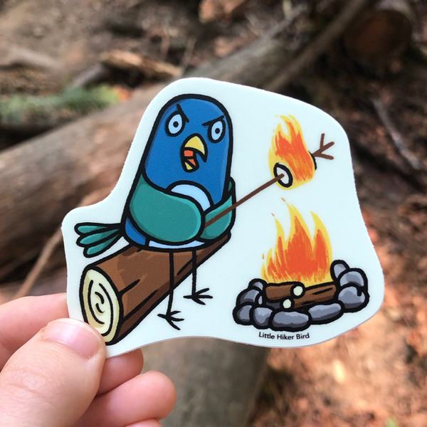 Marshmallow Comic Sticker (No Text)