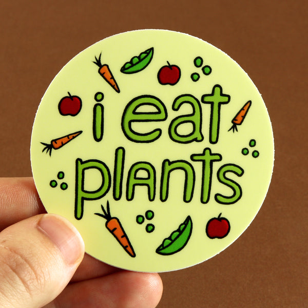 I Eat Plants Sticker