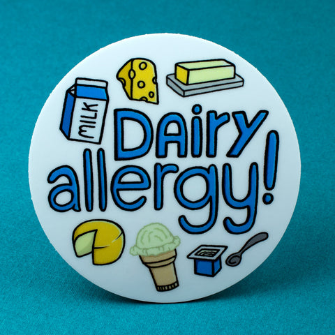 Dairy Allergy Sticker