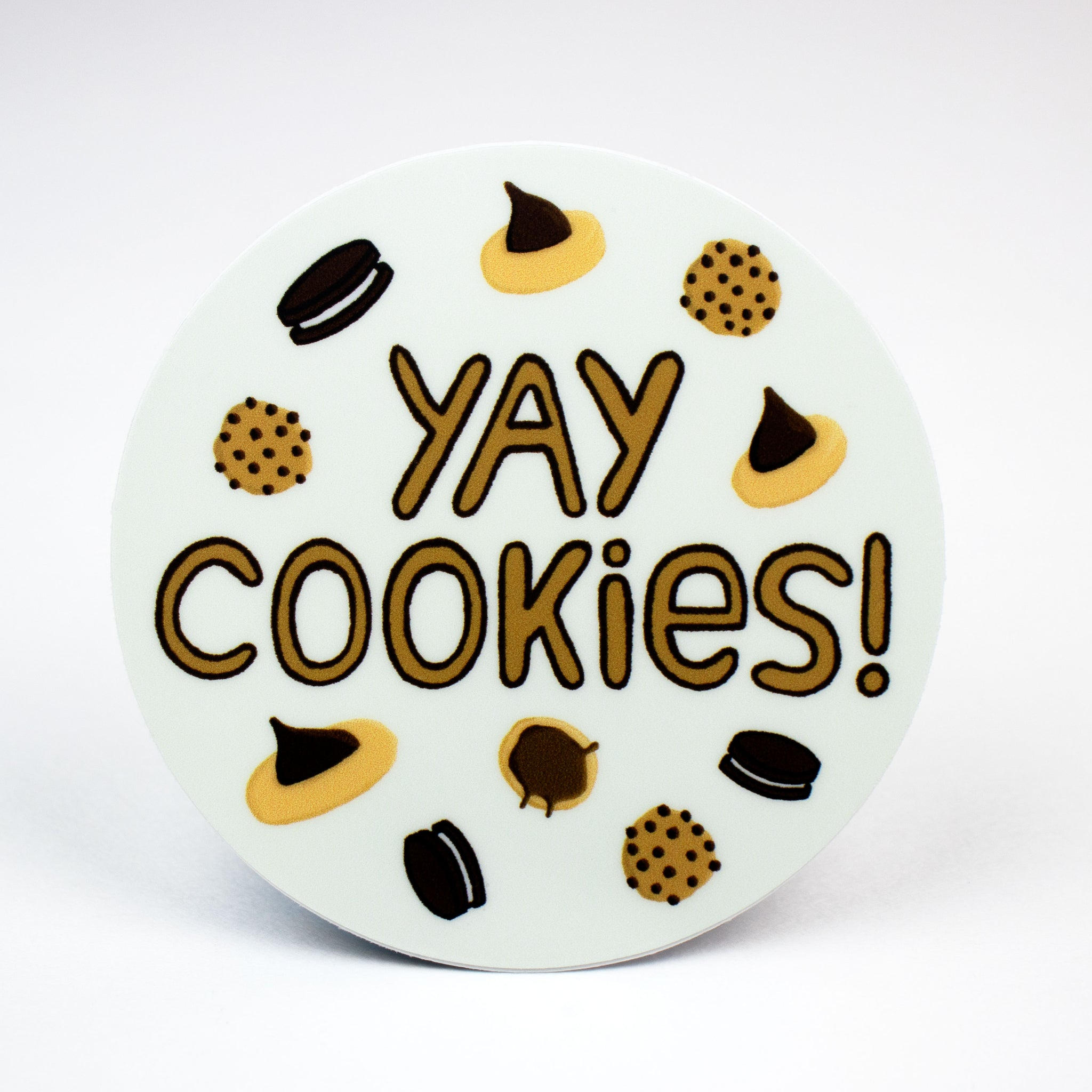 Yay Cookies Sticker