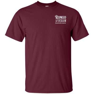 Ultra Cotton T-Shirt, ROMEO CLUB ™ printed front only