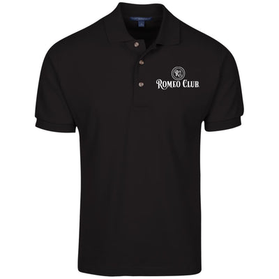 Polo Shirt, 100% Cotton Pique Knit, ROMEO CLUB® Logo