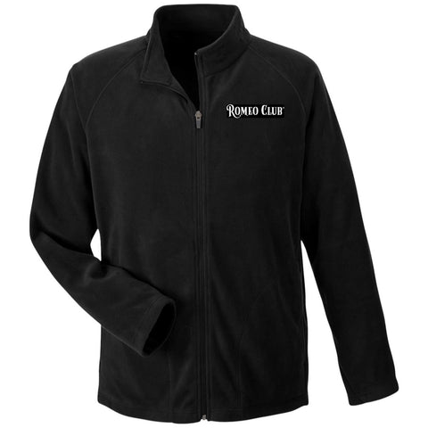 ROMEO CLUB™   Microfleece, Full Zip, Black