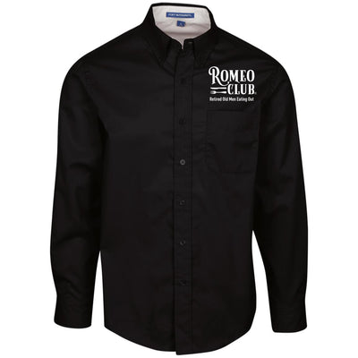 Official ROMEO CLUB® Men's Dress Shirt, with Full LOGO