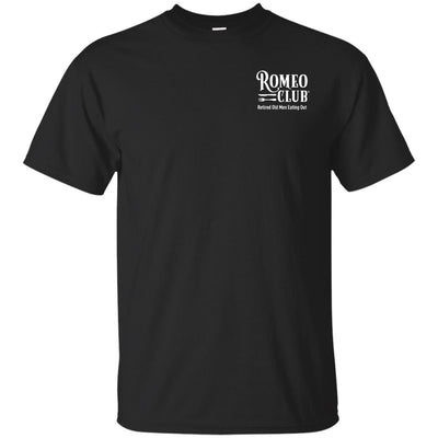 Ultra Cotton T-Shirt, Official ROMEO CLUB® printed front only